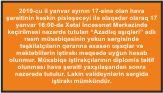 """""""Azadlıq aşıqləri"""" adlı rəsm müsabiqəsinin yekun sərgisi təxirə salınır"""